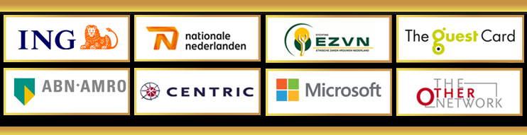Golfes ING ABNAMRO CENTRIC National Nederlanden Microsoft EZVN The Guest Card The Other network